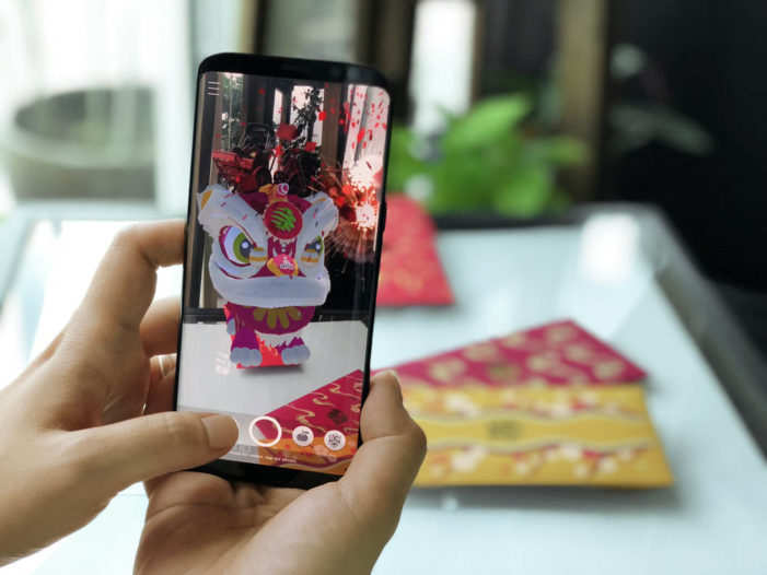 Maxis and Ensemble Worldwide Malaysia create an interactive AR lion dance app for Chinese New Year
