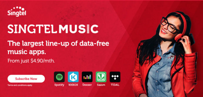 Deezer and Singtel ink deal to provide data-free music streaming in Singapore