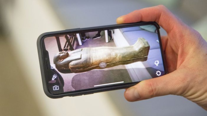 The BBC is launching its first AR app, designed to turn your living room into a museum