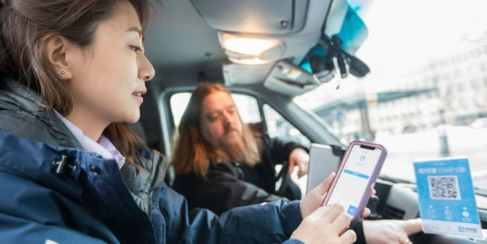 Alipay sends eight Chinese tourists on a cashless experiment in Finland