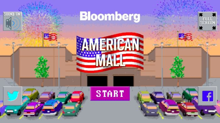 Bloomberg created a video game to document the demise of the American shopping mall
