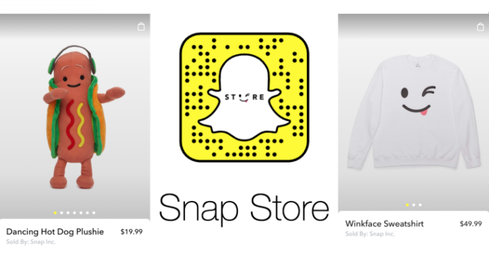 Snapchat is now selling merchandise in its app