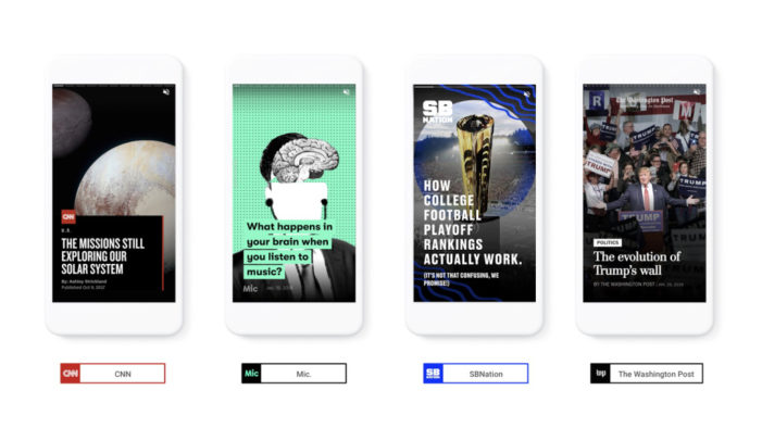 Google evolves AMP with visually rich multimedia stories
