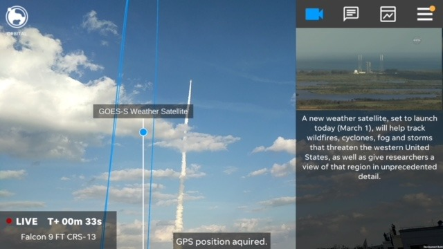 USA Today to roll out its first AR app, focused on rocket launches at Cape Canaveral