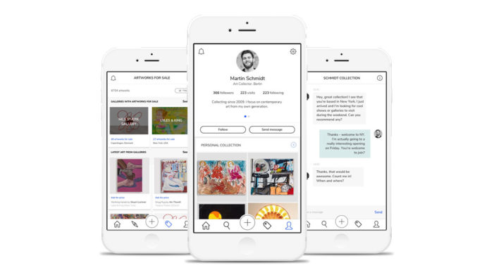 Rapidly growing art app 'Artland' receives funding from art heavyweights and sports stars