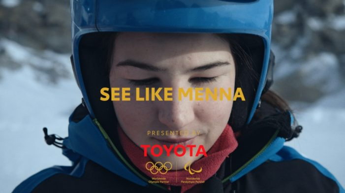Toyota's visual impairment filter on Instagram allows everyone to #SeeLikeMenna