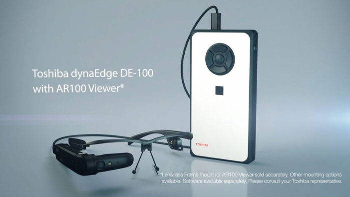 Toshiba launches dynaEdge AR smart glasses, powered by Windows 10