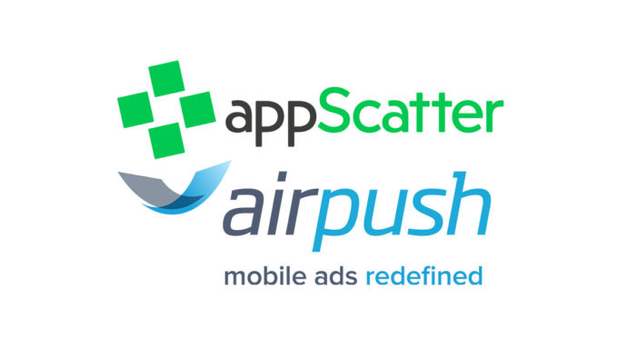 App ad network Airpush to promote appScatter's platform to its clients