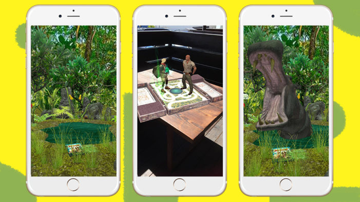 Sony experiments with AR by using Snapcodes on Jumanji Blu-Ray and DVD packaging