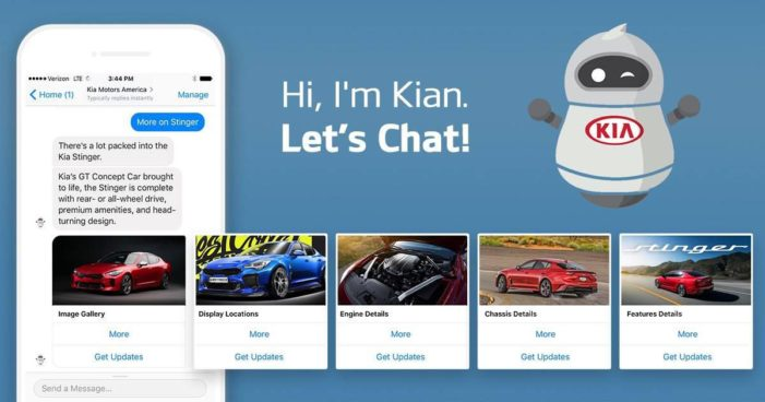 Kia is seeing 3 times more conversions through its chatbot than its website