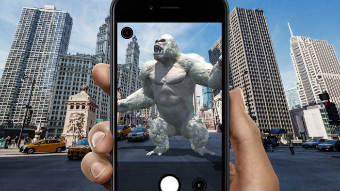 Warner Bros. readies 'Rampage' debut with AR game