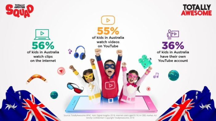 TotallyAwesome launches influencer incubator program for kids in Australia