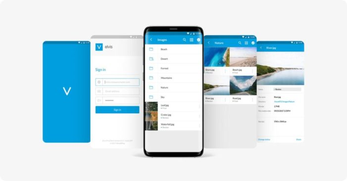 The WoodWing Elvis DAM mobile app helps users work with digital assets when on-the-go