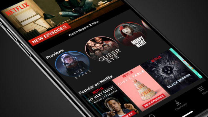 Netflix's new 30-second mobile previews look like Snapchat and Instagram Stories