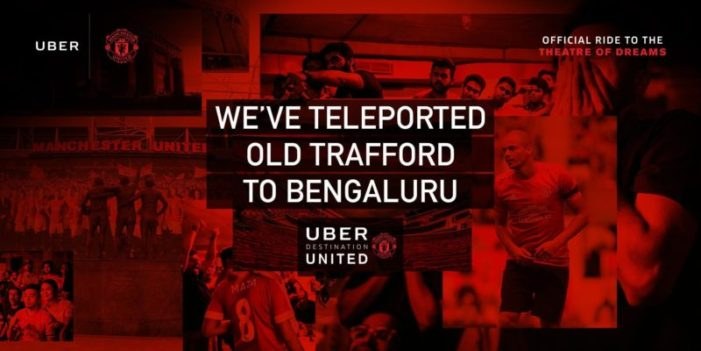 Uber takes Manchester United fans in India virtually to Old Trafford