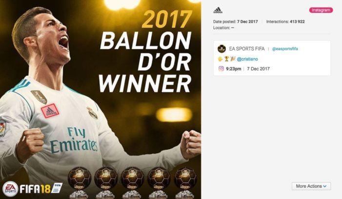Adidas has the most shared logo of any brand on social media, according to Brandwatch