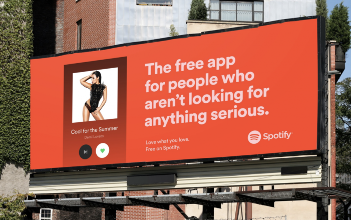 Spotify blows up cars and matches people with songs in latest campaign