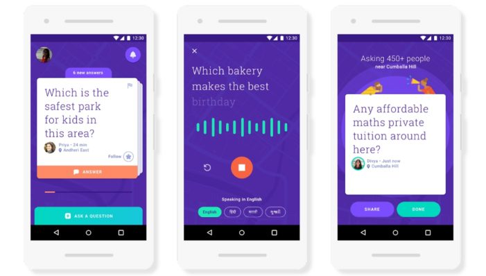 Google launches community Q&A app in India