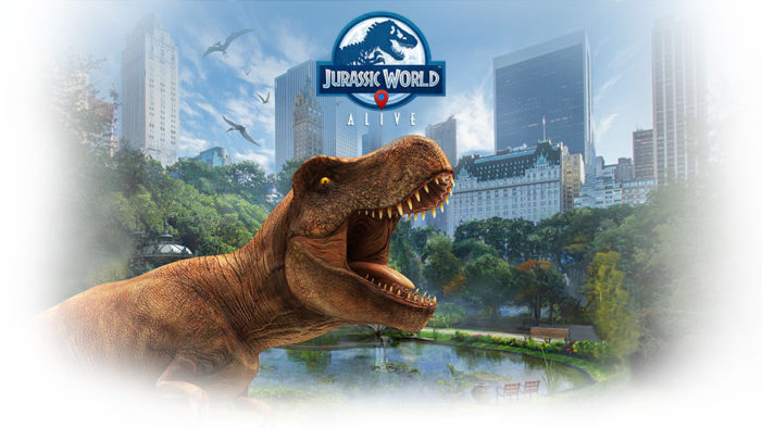 Jurassic World comes alive in the UK via an AR game