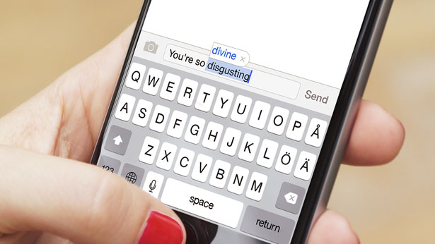 Länsförsäkringar turn hate into love with new autocorrecting app The Nasty Filter