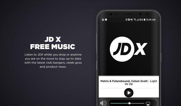Immedia works with JD Sports to launch music & entertainment platform JD-X across in-store & mobile