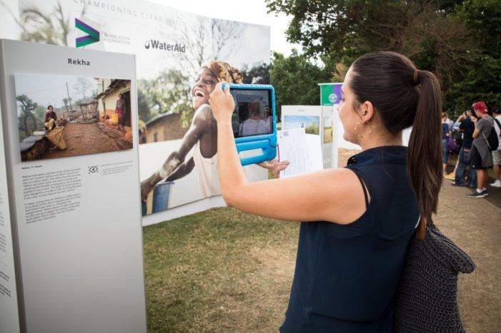 Wimbledon hosts its first ever augmented reality exhibition
