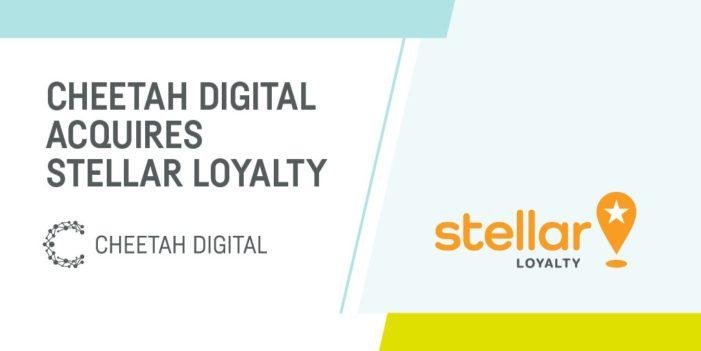 Cheetah Digital buys Stellar Loyalty to boost customer loyalty tools
