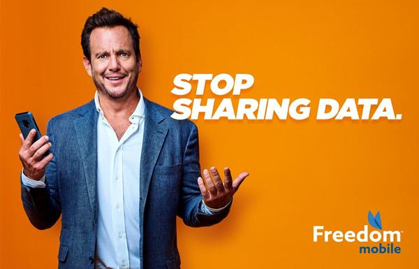 Will Arnett Sends Canadians a Message in New Freedom Mobile Ad Campaign
