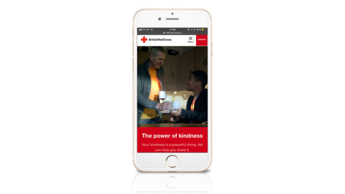 Mobile to the fore in British Red Cross website redesign by Rufus Leonard