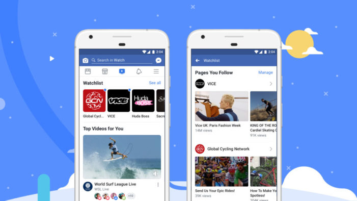 Facebook Watch rolls out globally in bid to take on YouTube