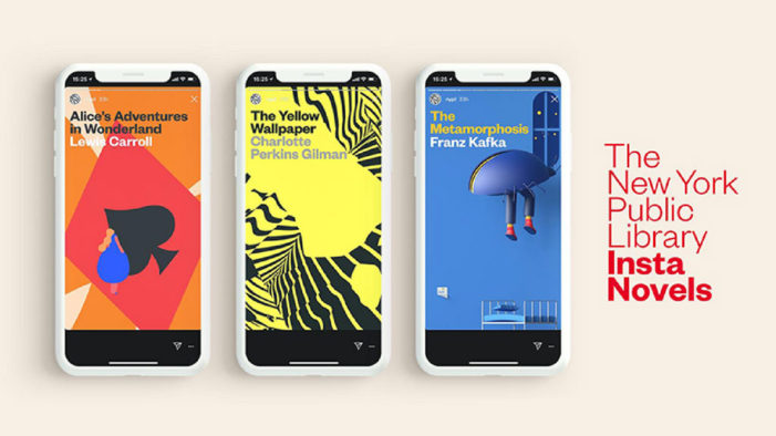 Mother helps NYPL turn Instagram into an e-reader with Instanovels launch