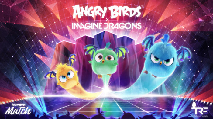 Rovio and Imagine Dragons launch special Angry Birds Match event benefiting the Tyler Robinson Foundation