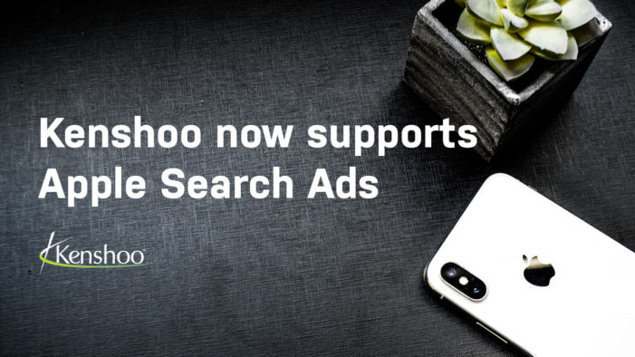Kenshoo announces support of Apple Search Ads