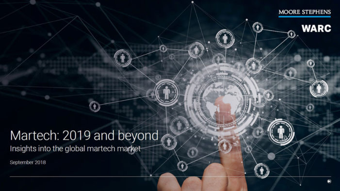 Martech market approaches $100bn and will continue to growing, says Moore Stephens and WARC report