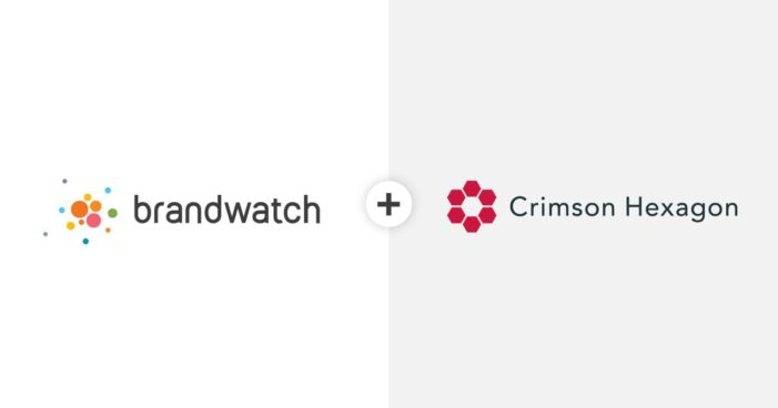 Brandwatch & Crimson Hexagon merge to create new AI-driven products to help decision-maker better understand their consumer