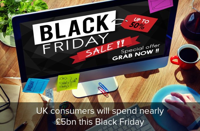 Consumers to spend nearly £2.5bn in online purchases on Black Friday, according to Salmon