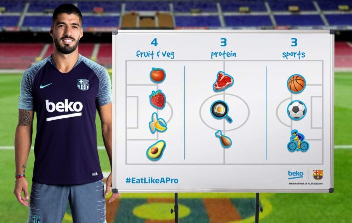 Beko Continue to Change the Conversation Around Healthy Eating Through Emojis with FC Barcelona