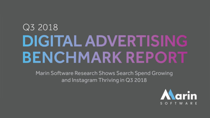 Marin Software Research Shows Search Spend Growing and Instagram Thriving in Q3 2018