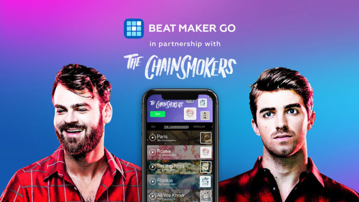Beat Maker Go partners with The Chainsmokers