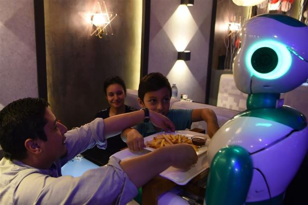 Nepal's First Robot Waiter is Ready for Orders