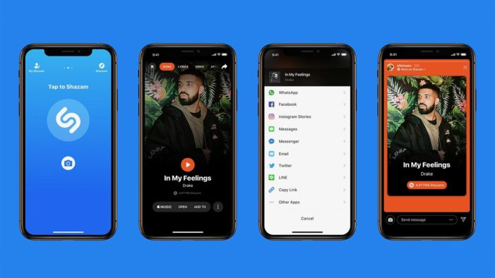 Shazam for iOS offers Instagram Story integration in latest update