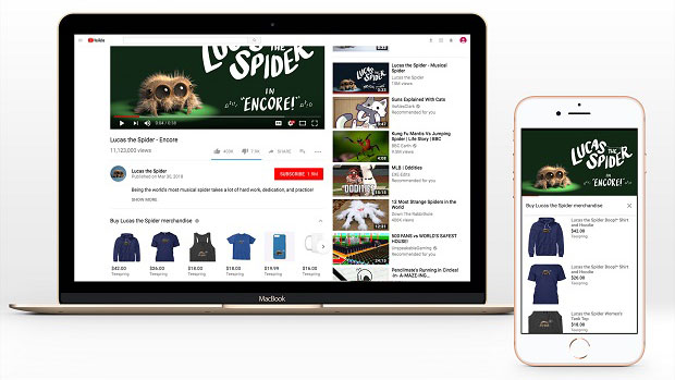 Teespring and YouTube expand merchandise integration for YouTube creators in the UK