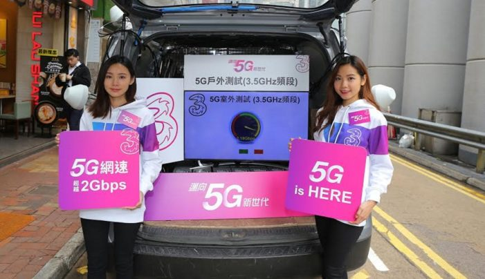 Three delivers Hong Kong's 'first' 5G live outdoor broadcast