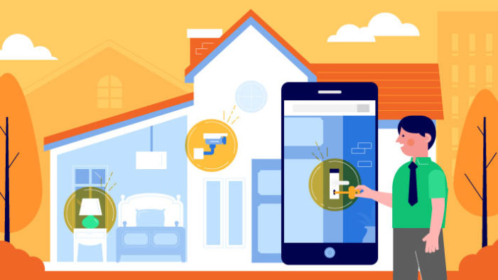 Safeatlast's infographic shows how smart homes are taking over the world