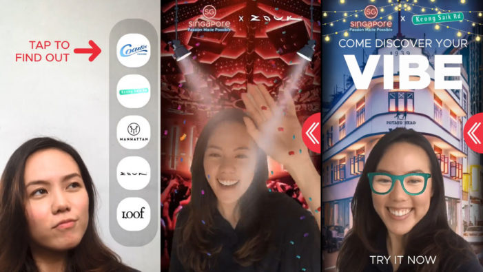 AliveNow creates Singapore Tourism's Facebook AR experience that teleports you to city's top party spots