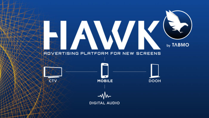 TabMo activates DOOH, connected TV and audio on its mobile advertising platform, Hawk