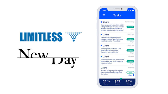 Limitless joins forces with NewDay to deliver pioneering Voice of Customer programme