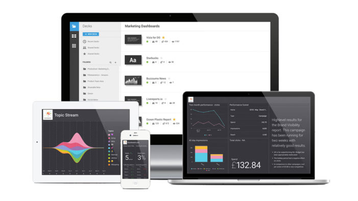 Brandwatch launches Vizia Enterprise Reporting, bringing data intelligence to mundane internal reports