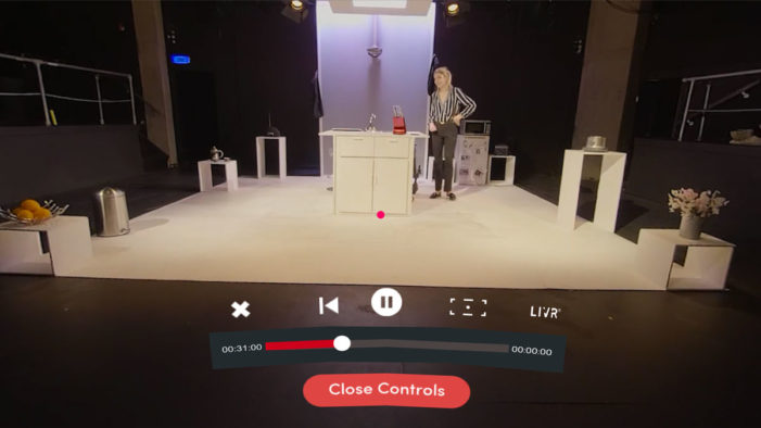 LIVR, world's first on-demand VR theatre platform launches in the UK