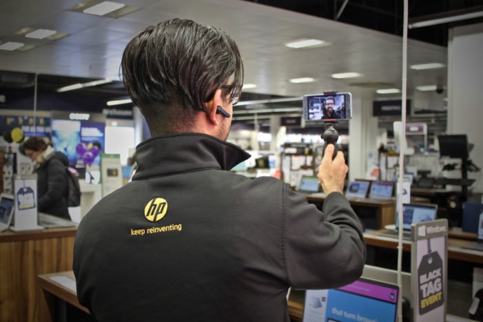 Go Instore helps HP and Currys PC World drive customers in-store for four fold sales boost